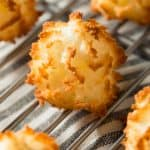 Homemade Baked Coconut Macaroons